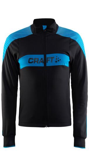 Craft Gran Fondo Jas Heren blauw/zwart